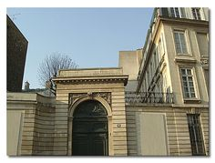 "50 rue de Vaugirard, Paris, where Madamede de Lafayette wrote ""The a Princess of Cleves"""