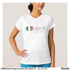 JERRILLA Design Custom Dry Sport T-Shirt Italy