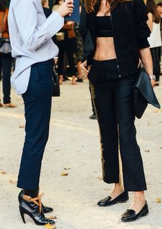 half-tucks & crop-tops #style #fashion #streetstyle