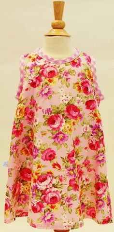 Summer Dress! Roses by Rose... by sastirosielife on Etsy