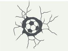 muursticker voetbal - Google zoeken