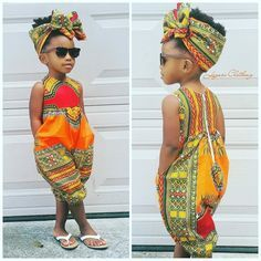 US 2019 Infant Baby Girls Kids African Jumpsuit Clothes Toddler Playsuit Outfit - fashion - Kids Outfit African Dresses For Kids, African Babies, African Children, African Wear, African Attire, African Women, African Style, Baby African Clothes, Ankara Styles For Kids