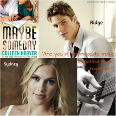 Nancy's Romance Reads: Book Review: MAYBE SOMEDAY by Colleen Hoover - Giveaway