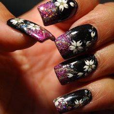 Flower nails  www.AsianSkincare.Rocks