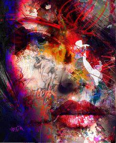 "Saatchi Art Artist: yossi kotler; Digital 2014 New Media ""emotionally involved"""