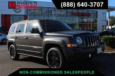 Used 2016 Jeep Patriot Sport for sale at Burien Nissan in Burien, WA for $12,588. View now on Cars.com. Jeep Patriot Sport, 2016 Jeep, Dog Car, Nissan, Cars, Vehicles, Sports, Nun, Hs Sports