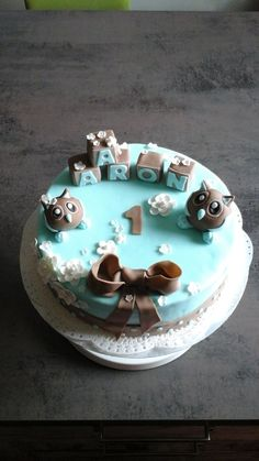 elefant fondant torte 1 geburtstag elephant cake. Black Bedroom Furniture Sets. Home Design Ideas