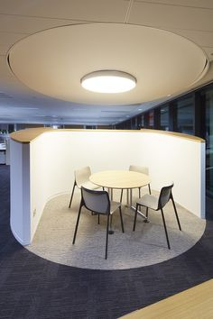 Davenport | QBE | Australia | CHASSIS multi-purpose chair and LOGON folding table by #Wilkhahn