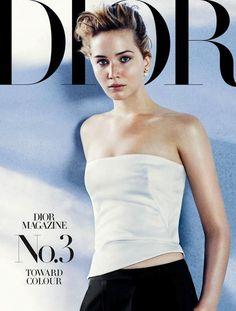 Jennifer Lawrence for Dior Magazine, F/W 2013 edition
