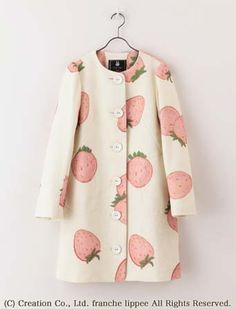 strawberry coat by franche lippee