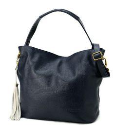 import(インポート)のPELLETTERIA VENETA タッセルショルダーバッグ(ショルダーバッグ)|ネイビー Bags, Fashion, Handbags, Moda, Fashion Styles, Fashion Illustrations, Bag, Totes, Hand Bags