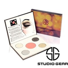 Studio Gear Cosmetics Holiday Smokey Eye Palette Giveaway! Brand new, enter to win!
