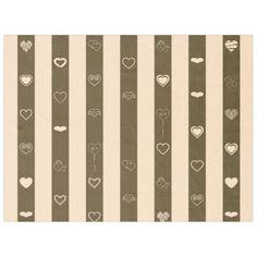 Donkey Brown Stripes Modern Heart Pattern Fleece Blanket - stripes gifts cyo unique style