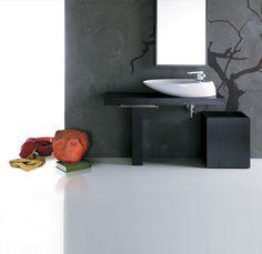 BO12   Bohemien Ceramica Simas Counter top washbasin