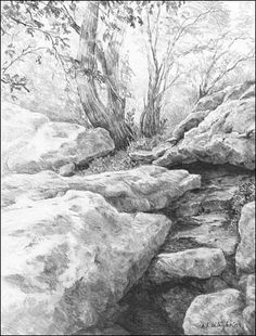 drawing landscapes with pencil | SKETCHES & PENCIL DRAWINGS ...