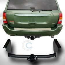 "CLASS 3 TRAILER HITCH RECEIVER REAR BUMPER TOW KIT 2"" FOR 99-04 GRAND CHEROKEE"