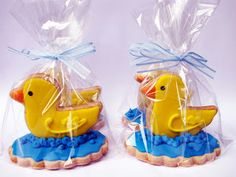 3d Duck Cookies PETIT FOUR: