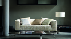 Dezente Farben. Einzigartiges Muster. Ein echter Hingucker. Fotocredits: FINE Sofa, Couch, Beige, Furniture, Cream, Home Decor, Culture, Colors, Homes