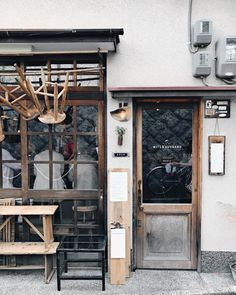 Wife & Husband coffee shop in Kyoto
