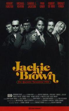 Robert De Niro and Samuel L. Jackson in Jackie Brown Movies Showing, Movies And Tv Shows, Robert Forster, 1990s Films, Bridget Fonda, Cinema Posters, Film Posters, Jackie Brown, Michael Keaton