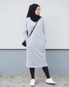 Best Ideas For Style Hijab Remaja Gemuk hijab remaja gendut Modern Hijab Fashion, Hijab Fashion Inspiration, Muslim Fashion, Modest Fashion, Fashion Outfits, Womens Fashion, Hijab Casual, Hijab Chic, Modest Dresses