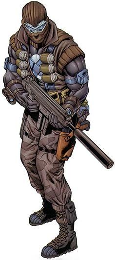 Agent Zero - Maverick - Marvel Comics - Weapon X - Christoph Nord