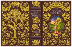 Hans Christian Andersen, The Complete Fairy Tales edition by Mark Burckhardt