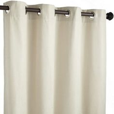 Outdoor curtain for patio. Calliope Curtain - Ivory