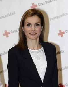 Queen Letizia of Spain Photos: Queen Letizia Attends a Meeting With the Spanish Red Cross in Madrid