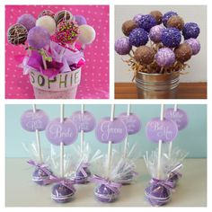 Cake pop ideas for Hannah :-)