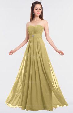 bb2666d91c3 ColsBM Claire - Gold Bridesmaid Dresses