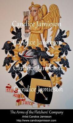 Heraldic Art by Candice Jamieson