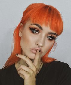 Bold makeup look #1 by sn0ok