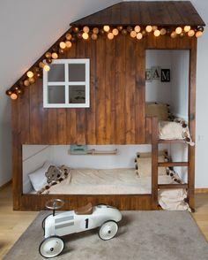 Find more: www.ladyofthehouse.pl  #Design #Kids #boyroom #lozkodomek