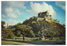 Postcards - Scotland # 90 - Edinburgh Castle, Scotland