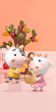 Cow Wallpaper, Animal Wallpaper, Cute Baby Pigs, Cute Babies, Animated Cow, Cute Cows, Cow Art, Cartoon Tv, Cute Friends