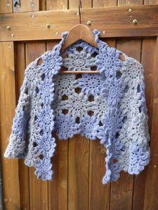 very pretty crochet shrug