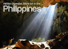 Hidden Agenda - It's more fun in the Philippines. Philippines Tourism, Philippines Culture, Places To Travel, Places To Visit, Tourism Department, Mindanao, Pinoy, More Fun, The Good Place