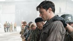 Rupert Evans plays Frank, a young man caught up in postwar drama and turmoil, in the Amazon Prime series, The Man in the High Castle.