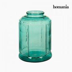 Candelabra Recycled Glass (26 X 26 X 36 Cm) By Homania
