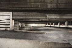 Car Park series by Penny Mercer at Manchester School of Art, Photography BA 2015