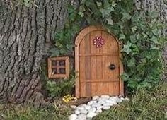 fairy doors on trees - Bing Images