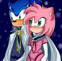 Sonamy (Snowwhite with white red hair) by Kat-Tale
