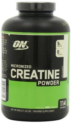 Health: Optimum Nutrition Creatine Powder, Unflavored, 600g