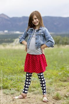 Sewing for Kids: 10-Minute Shirt to Skirt Refashion #sewing #skirts #kids