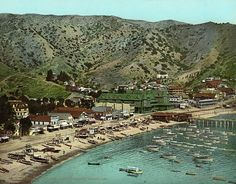 Avalon Beach, Santa Catalina Island, c1903, Vintage Photo