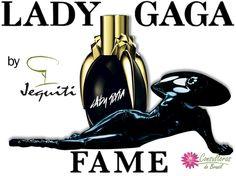 Jequiti Cosméticos A fragrância Lady Gaga Fame é uma explosão de criatividade, assim como a cantora.  O exclusivo líquido negro, quando em contato com a pele, torna-se invisível e exala uma sedutora fragrância. O frasco supermoderno tem formato oval e a tampa imita uma garra dourada. Fale com uma Consultora Jequiti e conheça mais. #consultorasdobrasil #jequiti #consultorajequiti #ladygaga #ladygagafame #perfume #fragrância