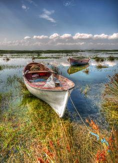 boats - Gölmarmara, Turkey