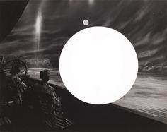 Dark Silence In Suburbia John Stezaker, Mixed Media, Digital Art, Collage, Fine Art, Dark, Illustration, Artist, Photography