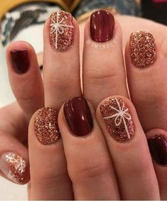 Festive Holiday Nail Art That Isn't Cheesy Festive Holiday Nail Art That Isn't Cheesy,Nails We assembled the best nail art designs. You'll want to check them all out.